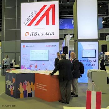 Bild AustriaTech Messestand