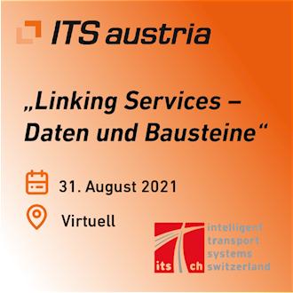 Banner der gemeinsamen Veranstaltung von ITS Austria und ITS Switzerland am 31.08.2021